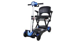S302151 Folding 4-Wheel Electric Scooter