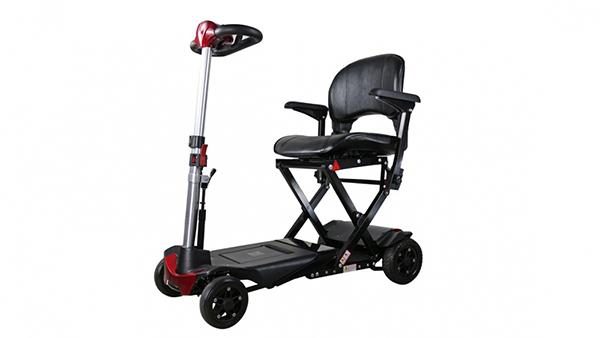 S302141 Folding 4-Wheel Electric Scooter