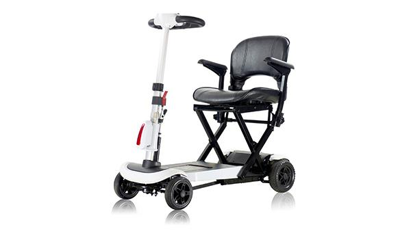 S302131 Folding Electric 4-Wheel Scooter